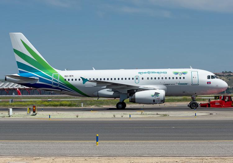 самолет Lanmei Airlines